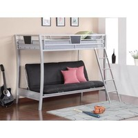 Coaster Twin And Futon Bunk Bed