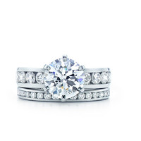 Tiffany & Co. | Engagement Rings | Round Brilliant With Channel-set Band | United States