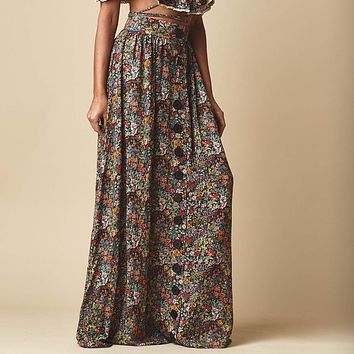Mara Floral Cotton Edith Skirt