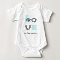 Cute and funny Elephant love typography Shirts