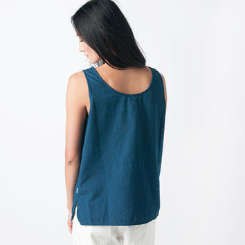 MILL MERCANTILE - Orslow - Solid Tank Top in Indigo