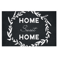 "KESS Original ""Home Sweet Home"" Dog Place Mat, 18"" x 13""  - Outlet Item"