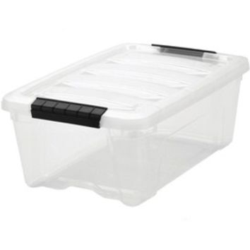 Clear Plastic Storage Box - Small
