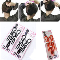 2 Set Modelling of Hairdressing Tools Dish Hair U Shape Hairpin Hairgrips 3pcs One Set Accessories