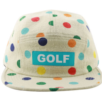 GOLF DOT CAMP HAT CREAM