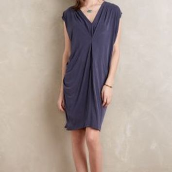 Maeve Rima Cocoon Dress in Dark Grey Size: