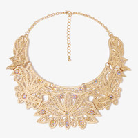Filigree Chain Necklace | FOREVER21 - 1000049957