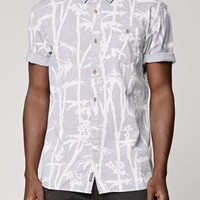 Vans Dorman Short Sleeve Woven Shirt - Mens Shirts - Gray