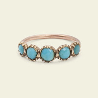 Georgian Persian Turquoise Ring