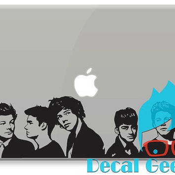 One Direction Wall Banner  Vinyl Decal 1D Vinyl Decal by DecalGeex