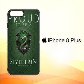 Proud To Be Slytherin F0574 iPhone 8 Plus Case