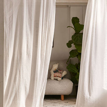 Adara Trim Curtain - Urban Outfitters