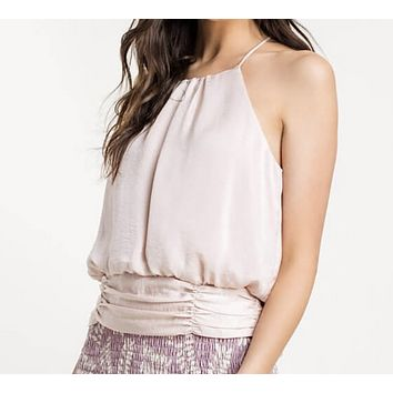 Be My Baby Blush High Neck Top