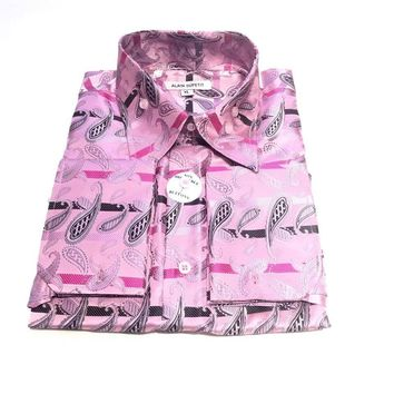 Alain Dupetit Paisley Button Up Shirts