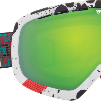 Spy Platoon Goggle - Spy + Wiley Miller/Yellow Green Spectra + Bronze Red Spectra Lens