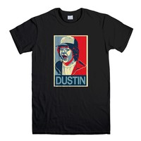 KING DUSTIN STRANGER THINGS Men's T-Shirt