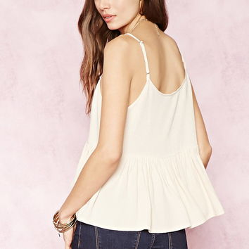 Contemporary Flared Cami | LOVE21 - 2000152203