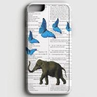 Elephant And Butterflies iPhone 8 Case