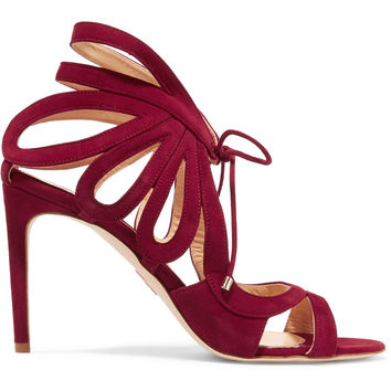 Ada cutout suede sandals | Chelsea Paris | US | THE OUTNET