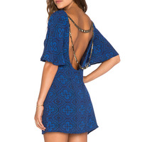 THE JETSET DIARIES Mirage Dress in Moroccan Tile