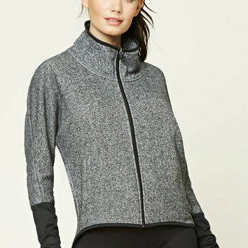 Active Marled Knit Jacket