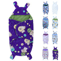 Baby Blankets Polar Fleece Fabric Infant Swaddle Soft Short Plush Bebe Envelope Stroller Wrap for Newborns Baby Bedding Blanket