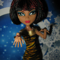 """Monster High and Ever After High doll Jewelry bangle set """"Serpent Spell"""" fashion doll Christmas gift New Year gift"""