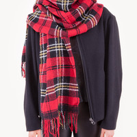 Carlton Scarf in Red