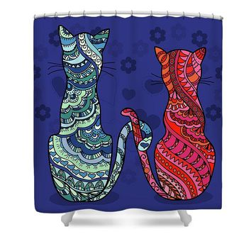 Cat Lovers - Shower Curtain