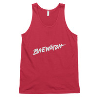 Baewatch Classic 90's Retro Red Tank Top (Unisex)