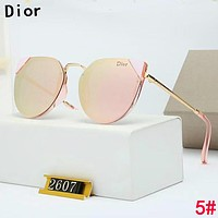 DIOR Stylish Women Cute Chic Shades Eyeglasses Glasses Sunglasses 5#