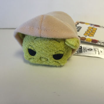 disney usa authentic star wars yoda tsum mini plush new with tags