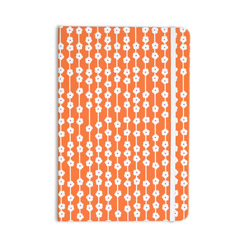 "Heidi Jennings ""Orange You Cute"" Tangerine White Everything Notebook"