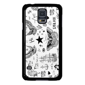 Harry Styles Tattoos Samsung Galaxy S5 Case
