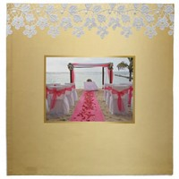 Rose Petals On The Red Carpet Wedding Napkin