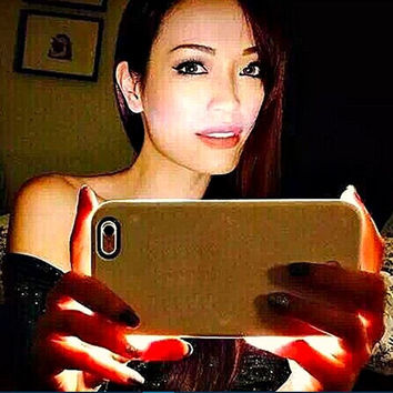Fashion New Luxury Luminous Phone Cover LED Light Selfie Phone Case forFashion New Luxury Luminous Phone Cover LED Light Selfie Phone Case for iPhone 7 7 Plus 5 5S 6 6S 6 6S Plus