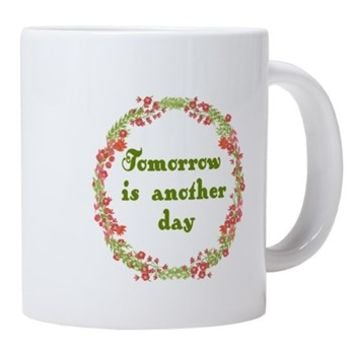 Scarlett O'Hara Tomorrow 20 oz Ceramic Mega Mug> Tomorrow is Another Day> Rhett And Scarlett