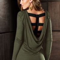 Back interest top by VENUS