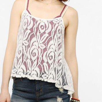 Pins And Needles Lace Waterfall Cami