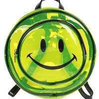 Clear Smile Round Mini Backpack