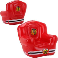 JF Sports Chicago Blackhawks Inflatable Lounge Chair