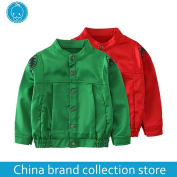 [PlayFul100] baby clothes coat hoodie jacket infant Newborn Baby Girls Boys Clothes Long sleeves polyester fiber 97% MD170MQ001