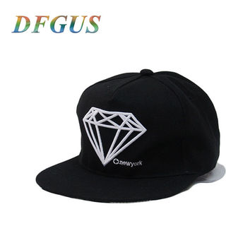 Diamonds! Snapback Hat For Men Snapback Cap Hip Hop Hat Cap Bone Baseball Cap Man Hat Fashion casquette gorras planas Adjustable