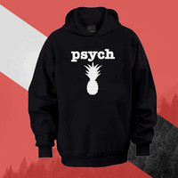 Psych Logo Hoodie Sweatshirt Sweater Shirt black white and beauty variant color Unisex size