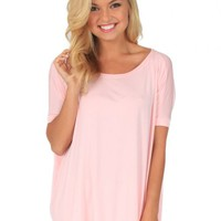 PIKO Something About You Light Pink Tunic | Monday Dress Boutique