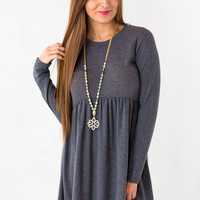 Doll Of Fame Dress in Grey