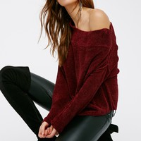 Free People Alana Chenille Pullover