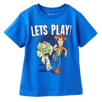 Disney / Pixar Toy Story ''Let's Play'' Buzz Lightyear & Woody Tee - Toddler Boy, Size: