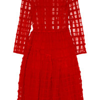 Simone Rocha - Wool-embroidered tulle dress
