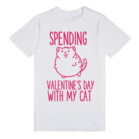 SPENDING VALENTINE'S DAY WITH MY CAT